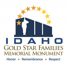 Idaho Gold Star Families Memorial Monument Logo