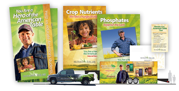 Simplot Nutrients for Life Exhibit and Collateral