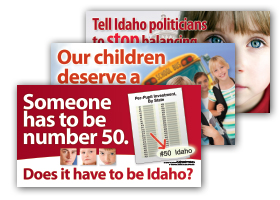 Idaho Education Association Direct Mail