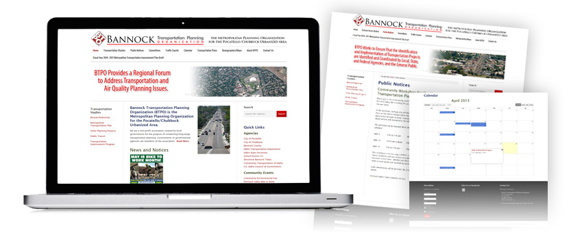 Bannock Transportation Planning Organization Website