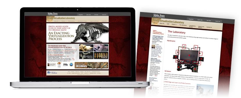 Idaho Virtualization Laboratory Website