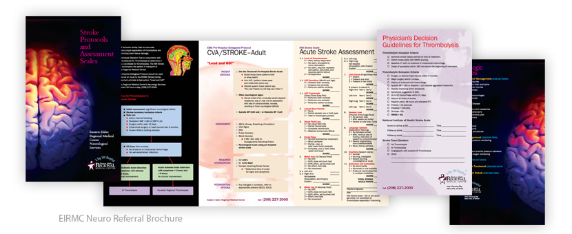 EIRMC Neuro Referral Brochure