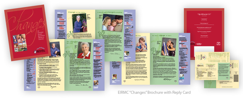 Rave Communications Portfolio - EIRMC Changes Brochure