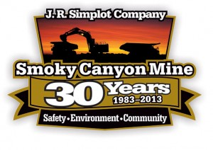 Rave Communications - Simplot Smoky Canyon Mine 30th Anniversary Theme Art