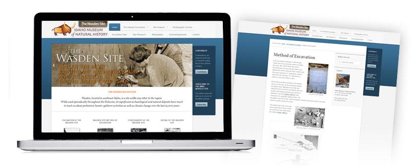 Idaho Museum of Natural History - Wasden Website