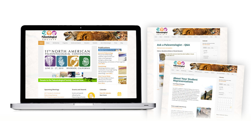 U.S. Paleontological Society Website